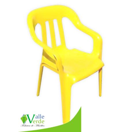 Silla infantil muebles valle verde for Silla infantil plastico